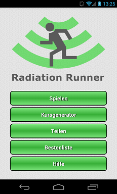 Radiation Runner